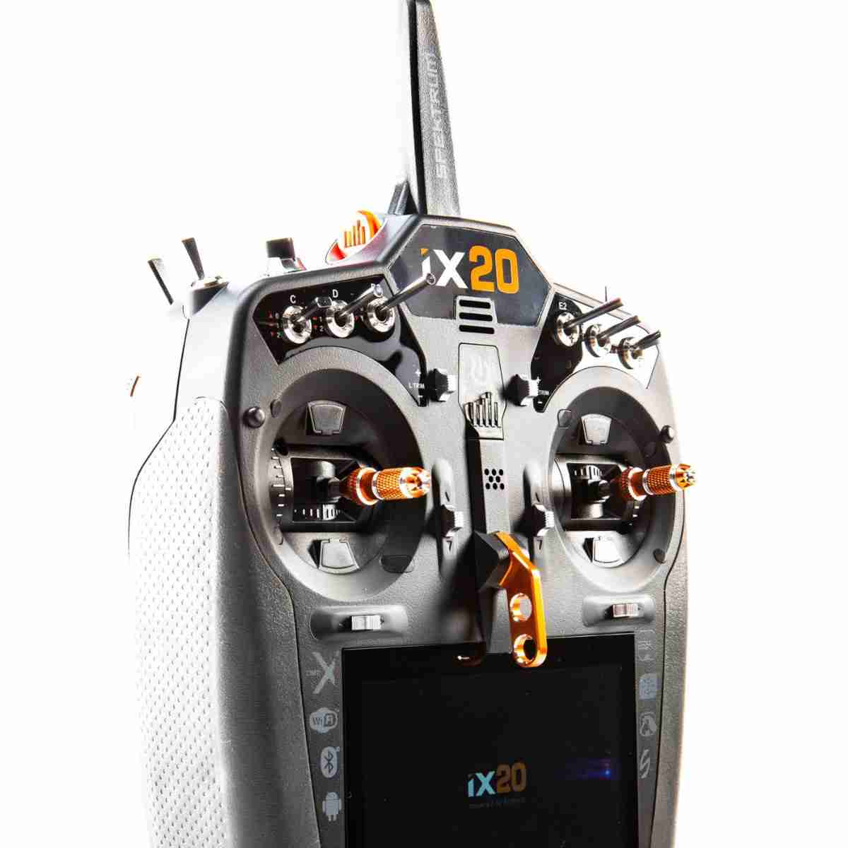 iX20 20-Channel DSMX Transmitter Only, Black-88713