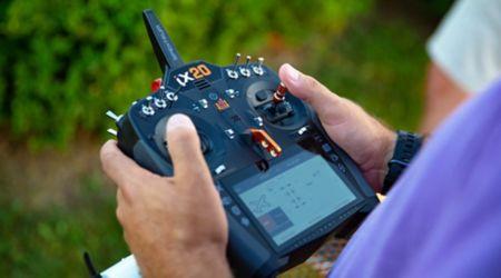 iX20 20-Channel DSMX Transmitter Only, Black-88715