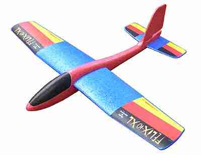 Free Flight model Made of Flexipor Felix iQ XL